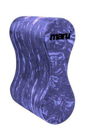 Adult Swirl Pull Buoy (Dark Purple/Purple)