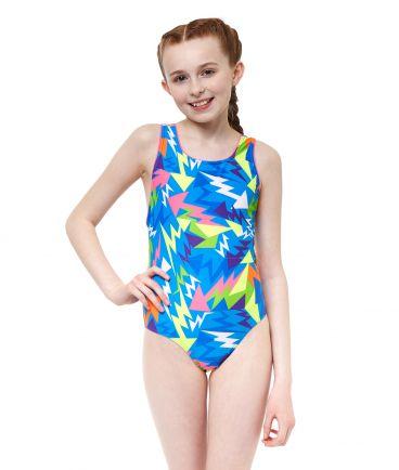 Lightning Strike Girls Swimsuit