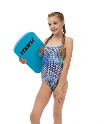 Techno Prism Girls Swimsuit