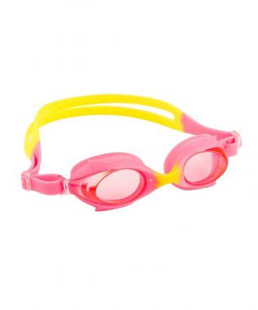 Dolphin Anti Fog Junior Goggle (Pink/Yellow)