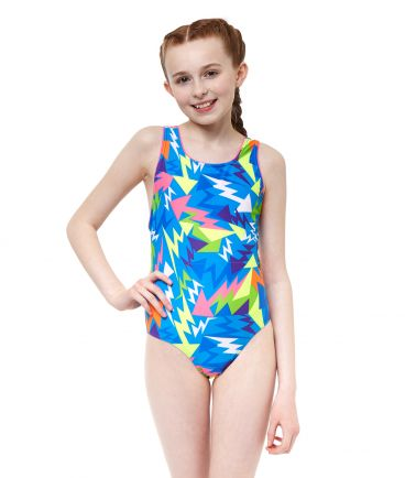 Lightning Strike Girls Swimsuit