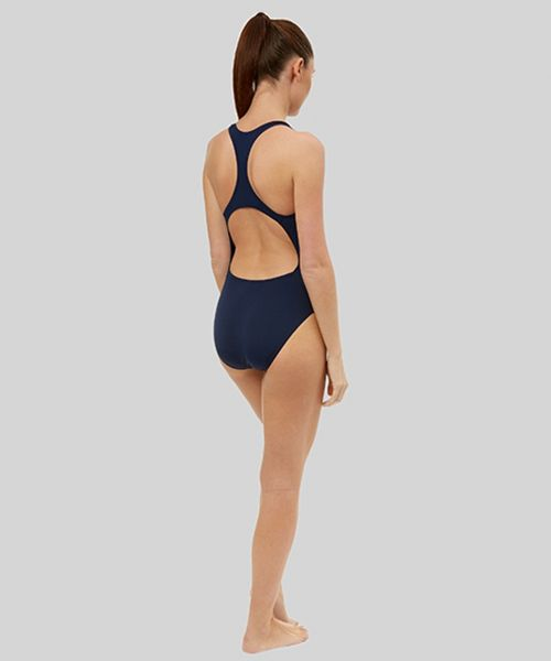 Women's Solid Racer Back (Navy)