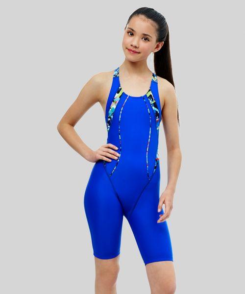 Girls Splash Ecotech Panel Legsuit
