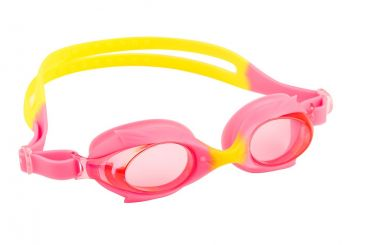 Dolphin Anti Fog Junior Goggle (Pink/Yellow)