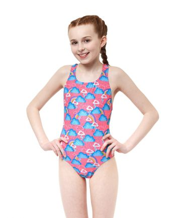 Cloudburst Girls Swimsuit