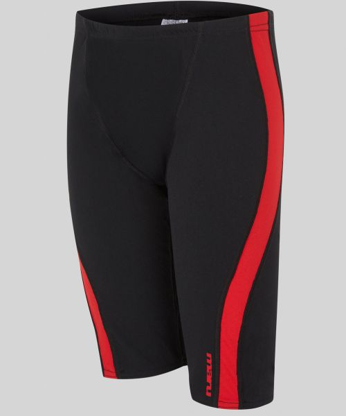 Boys Panel Jammer (Black/Red)