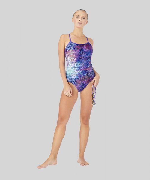 Tessellate Than Never Ecotech Swimsuit