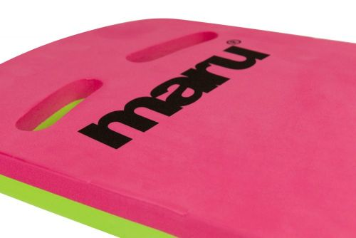 Two Grip Fitness Kickboard (Pink/Lime)