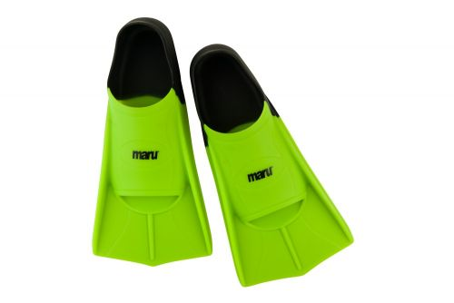 Training Fins - Neon Lime/Black