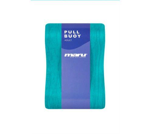 Junior Swirl Pull Buoy - Blue
