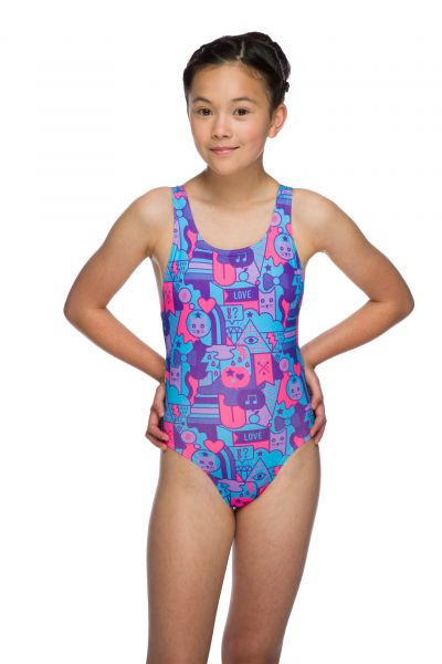 Kitty Girls Swimsuit