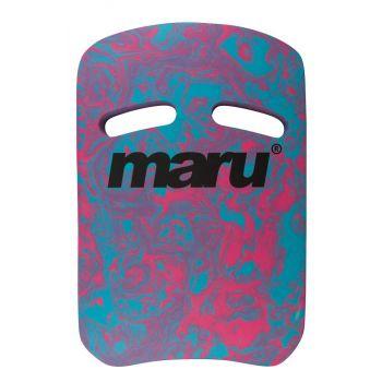 Swirl Two Grip Fitness Kickboard (Swirl Blue/Pink)