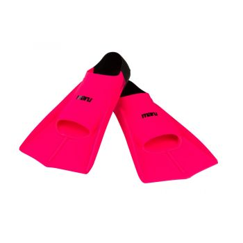 Training Fins - Neon Pink/Black