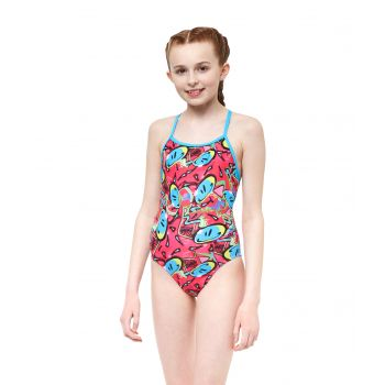 Bounce Pacer Fly Back Girls Swimsuit