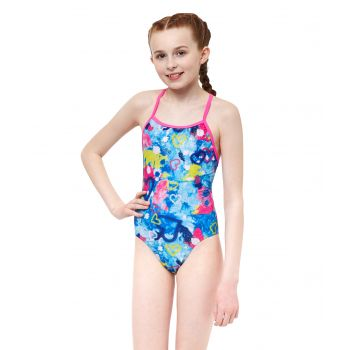 Heart & Soul Fly Back Girls Swimsuit