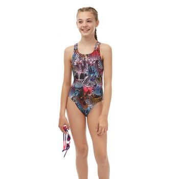 Zany Zebra Girls Swimsuit