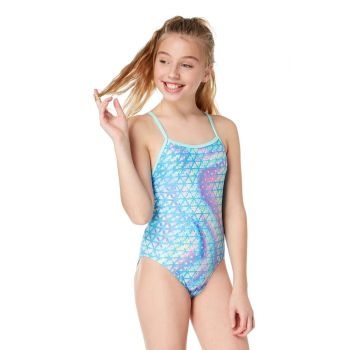 South Beach Sparkle Fly Back Girls Swimsuit