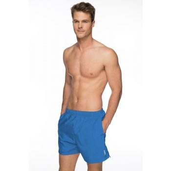 Solid Tactel 16 Swimming Shorts (Blue)