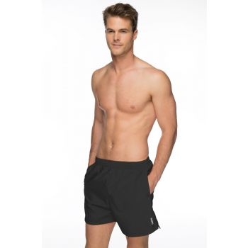 Solid Tactel Swimming Shorts