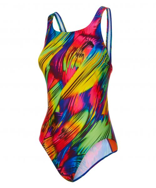 Brush Strokes Swimsuit