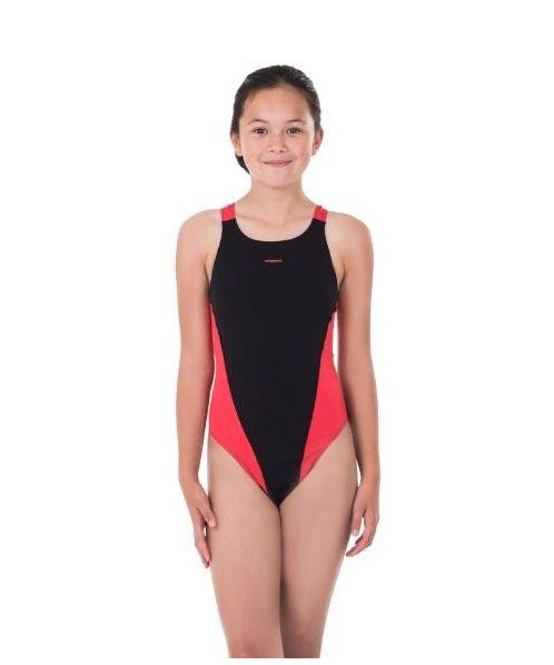 Team Pacer Vault Back Girls Swimsuit
