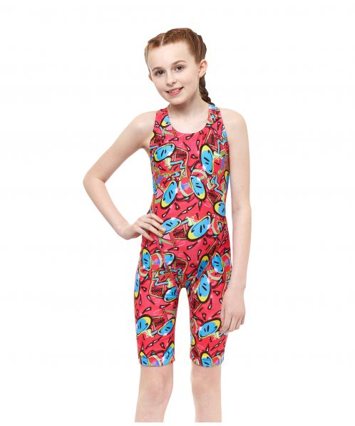ff1b00dac8723 Bounce Pacer Legsuit - Maru Girls Swimwear