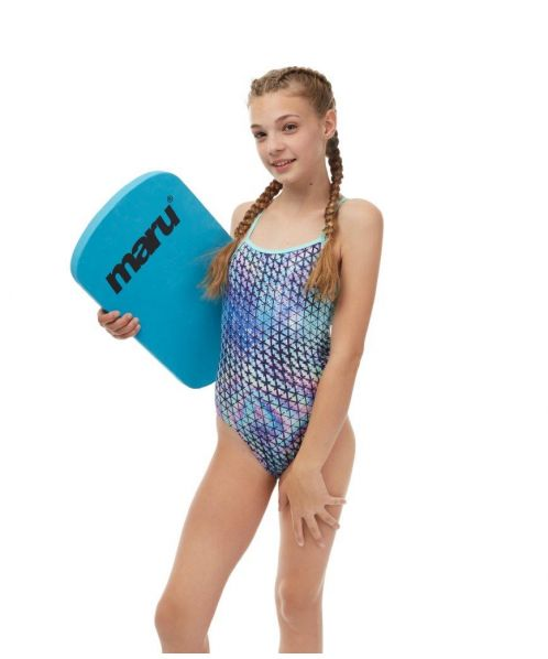 b9749c585fb4 Techno Prism Fly Back | Maru Girls Swimwear AW18
