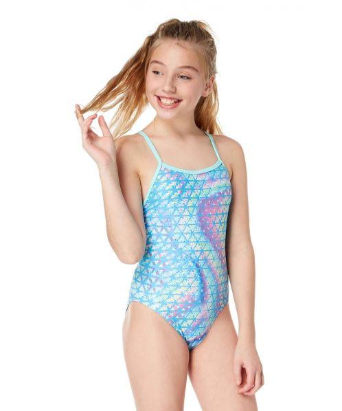 13397c6de7 South Beach Sparkle Fly Back | Maru Girls Swimwear SS19