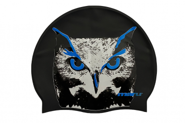 Printed Silicone Hat-Owl