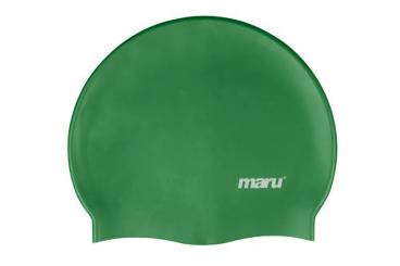 Silicone Swim Hat (Dark Green)
