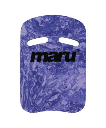 Swirl Two Grip Fitness Kickboard- Dark Purple/Purple