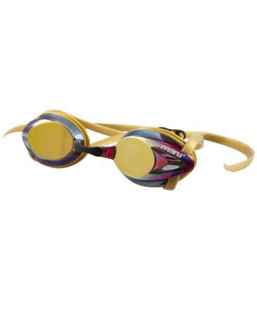 Pulse Mirror Anti-Fog Goggles-Pink/Gold