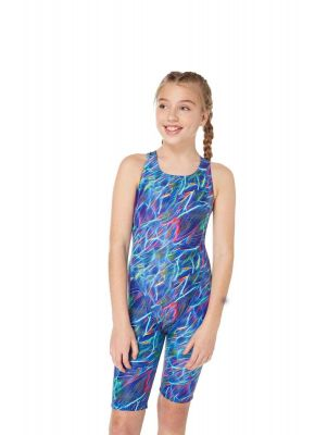 b8075a8d5d Solid Pacer Open Back Swimsuit (Royal Blue). Regular Price £22.99 As low as  £11.50. Aquarius Pacer Legsuit