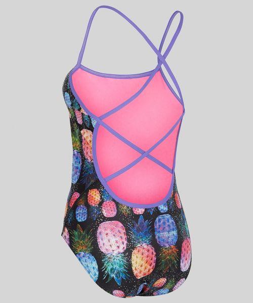 Piña Colada Ecotech Sparkle Swimsuit