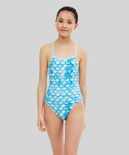 Shimmer Ecotech Sparkle Girls Swimsuit