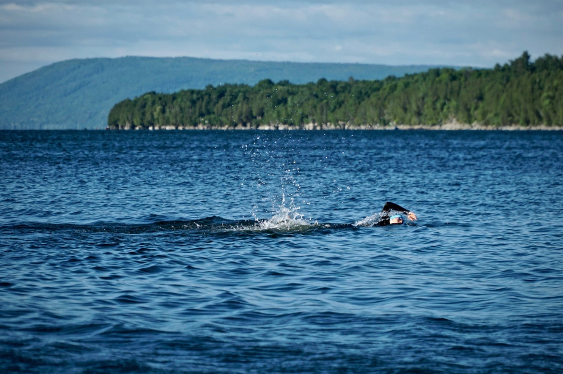 Can you handle an open water swimming event?