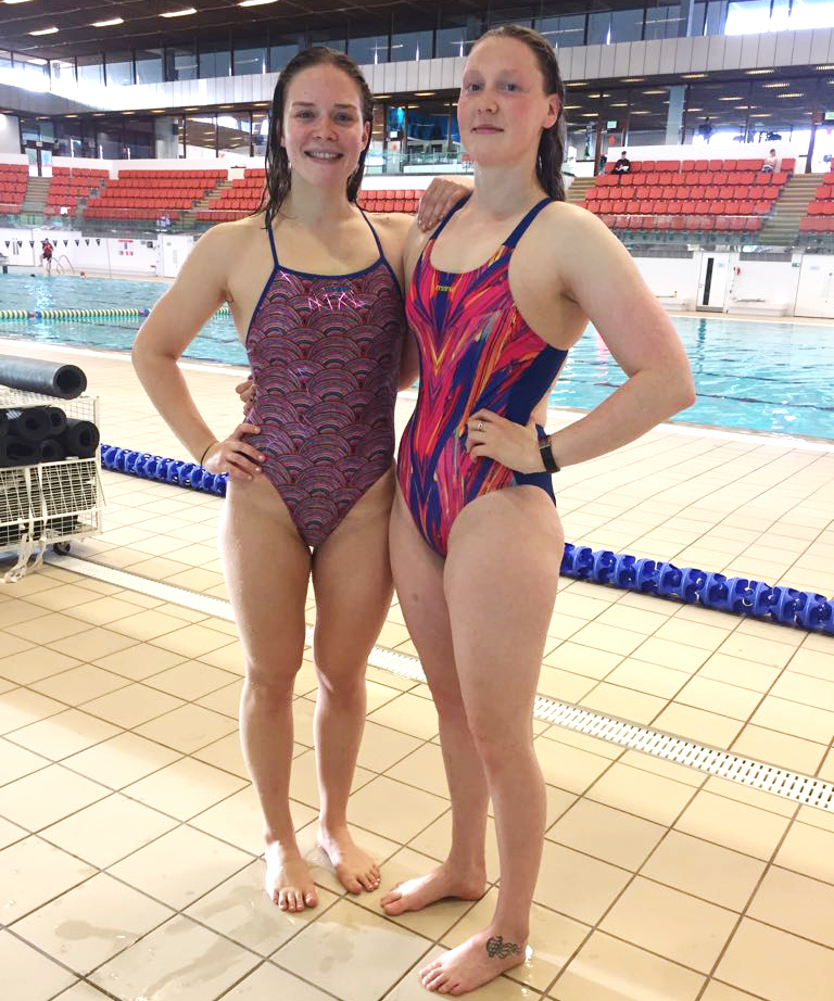 Kathryn Johnstone and Evie Edwards