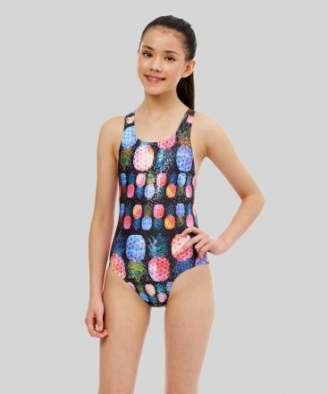Piña Colada Ecotech Sparkle Girls Swimsuit