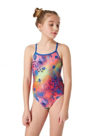 Ladybug Ball Girls Swimsuit