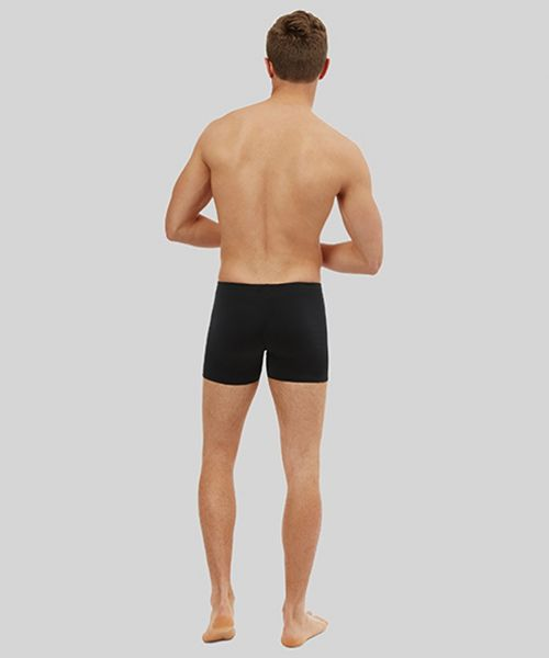 Men's Solid Short (Black)