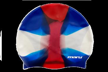 Multi Colour Silicone Hat (Red/White/Blue)