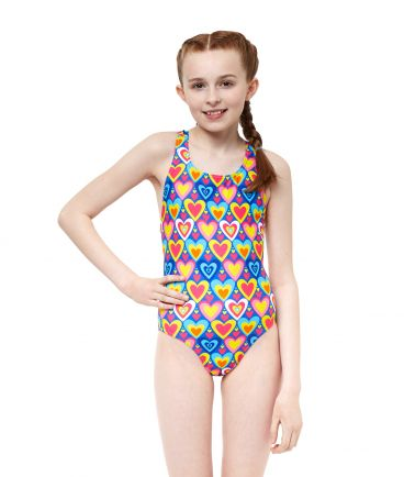 Psychedelic Girls Swimsuit