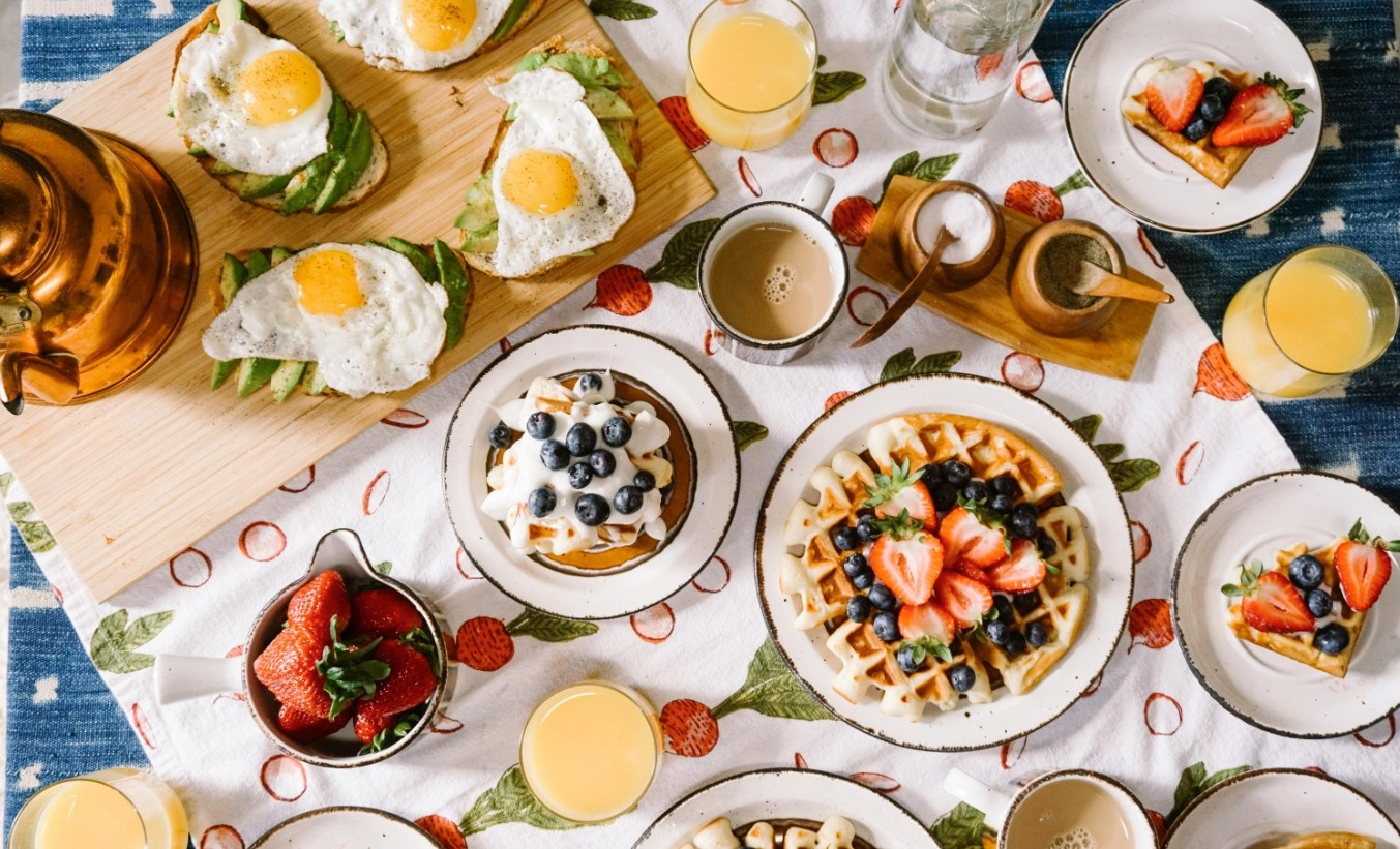 What winning breakfast can you eat before training?
